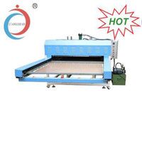 Wholesale 80 CM SUBLIMATION MACHINE Full automatic Hydraulic Double Units Hot Stamping Printing Machine