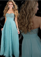 Wholesale 2013 Fashionable Empire Sweetheart neck Beading Sequins Chiffon Evening Dresses Prom Dresses A910