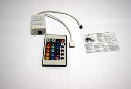 20pcs - 12V 6A 24Key IR Controller Remote Controller FOR 3528 5050 SMD RGB LED Strip Light