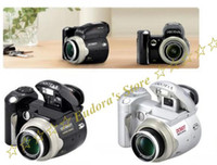 Wholesale 2GB card MP digital camera X Digital Zoom Wide angle lens inch LCD DC500T upgrade to DC510T