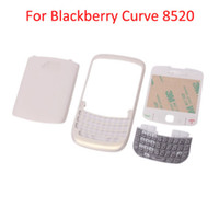 Wholesale Curve Piece Housing For Blackberry Pearl White M01085