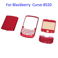 Wholesale Replacement Piece Housing Curve For BlackBerry Red M01089