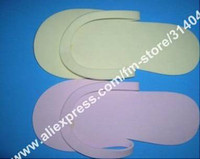 Wholesale Disposable Slipper EVA Foam Salon Spa Slipper Disposable Pedicure thong Slippers Beauty Slippe