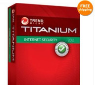 Antivirus & Security Home Windows Trend Micro Titanium Internet Security 2016 1Year 1PC, trend 2016 1 year1user