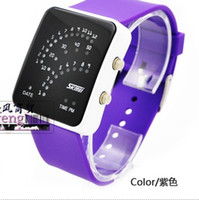 Wholesale Christmas gift Quality goods led watch south Korean students watch the men and women of fashion and