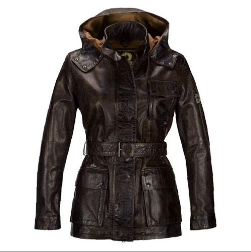 Designer Women Leather Jacket Luxury Cow Leather Brown Jacket with ...