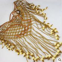 Wholesale Necklace Rural romantic Sue scarf AH wood beads fashion New Arrival