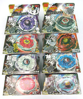 Wholesale BEYBLADE METAL FUSION FIGHT STARTER BEYBLADE SPIN TOP TOY BEYBLADES MIX ALL MODEL OF BB116
