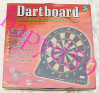 Wholesale electronic dart target electronic dart board scorer dartboard game LED dart