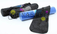 Wholesale nylon yoga bag yoga mat bag carrier mesh center yoga backpack