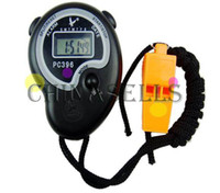 basketball timers - new sports soccer basketball electronic chronograph digital stopwatch timer