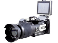 Wholesale 4GB HD9100 FULL HD P MP DIGITAL VIDEO CAMCORDER DIGITA CAMERA DV long focus wide angle DC