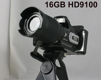 Wholesale 16MP X Zoom HD7000 HD9100 HDDV Digital Video Camera Camcorder with Telephoto Lens Wide angle Lens