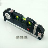 Wholesale New Laser Level Horizon Vertical Measure Tape FT Aligner BV077 CF