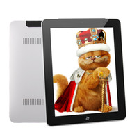 Wholesale 9 quot Capacitive IPS W7 OS Tablet PC Intel Atom N455 G RAM G SSD GHz Extra G WIFI HDMI Camera
