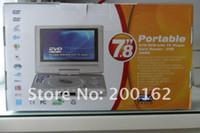 portable dvd player tv - 7 INCH SWIVEL PORTABLE DVD PLAYER TV GAME MP3 USB SD