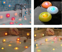 Wholesale Hot Colors LED Light Bathtub light bath pool light changing color spa light Box Packing