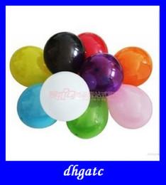 Globos del corazón en venta-globos de látex de color rico para las fuentes del partido de la boda o la decoración de navidad globos en forma de corazón