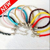 Wholesale Fashion Candy Imitate Leather Bracelet Belt With PU Bracelets Promotional Price