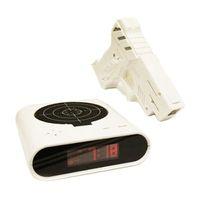 Wholesale Magnetic Levitation Maneki Neko Foam Dreamcatcher New Design Unique quot Lcd Laser Gun Target Shooting Alarm Desk Clockhigh quality