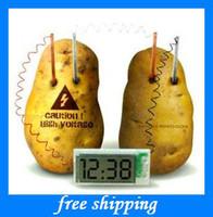 Big Kids big power switch - chrismas gifts Potato clock Switching power supply of material DIY fashion kids ltoys