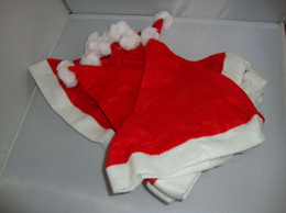 Wholesale Freeshipping Christmas gifts Beautiful and exquisited Christmas santa hat christmas hat