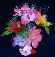 fiber optic flowers - 50pcs Fiber optic light stars Xmas tree decorations wedding stage fiber dried flower arrangement gty