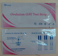 Wholesale 10mIU ml LH ovulation Test Strip with ISO and CE by fedex