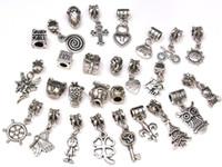 Wholesale Spacer Dangle Bead Charms Pendants for DIY Bracelet