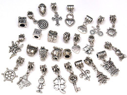 Spacer Dangle Bead encantos colgantes para pulsera DIY