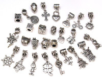 Spacer Dangle Bead Charms Pendants for DIY Bracelet