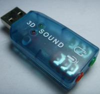 Wholesale USB EXTERNAL SOUND CARD D ADAPTER for PC from lihuangy