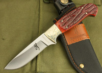 Wholesale OEM Browning knife Bowie Hunting Knife poket knife knife outdoor knife