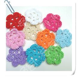 Wholesale crochet flower x shipping free