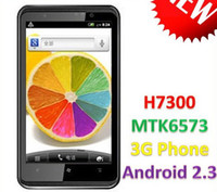 Wholesale H7300 GB MTK6573 WCDMA GSM capacitance screen Android Wifi GPS xiaomi cell phone