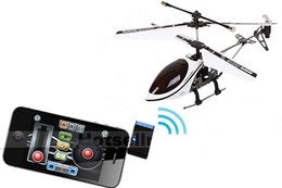 Wholesale new iphone ipad itouch control helicopters GYRO CH channel ihelicopter