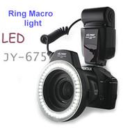 Wholesale JY Close Up Macro Led Ring LED Video Lights Camera light for Canon XTi XT Nikon Pentax