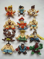 Wholesale 12 Styles Street Fighter Game PVC Action Dolls Figures Toys Mobile Phone Pendant Figure Doll