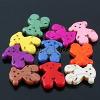 Wholesale 280 Dog Bear Animal Turquoise Stone Charm Beads Bead x x mm