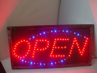Night Bar OPEN LED sign - High quality LED Neon Light Open Sign display signboard LED Neon sign lights