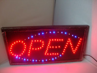 Wholesale Best selling Hottest LED Neon Light Open Sign display signboard LED Neon sign lights