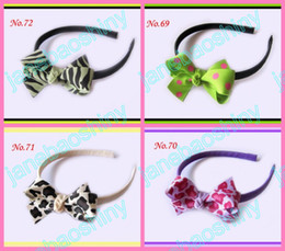 "free shipping 100pcs Boutique Girls Headbands 2.75"" Hair Bow Clips mix color girl clips j11"