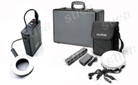 Wholesale Pro w Studio Ring Flash outdoor mobile Lighting kit