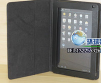 Wholesale Black Leather Folio Case Stand Cover for Dell Streak Pro Tablet Pro NEW