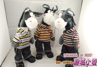 Wholesale Will be singing and dancing shaking head donkey electric toys clothes donkey