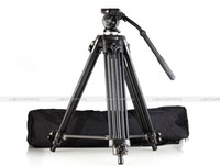 Wholesale free DHL Pro Video Tripod Fluid Pan Head EI717 EI m quot from kakacola shop