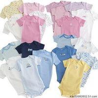 9-12 Months baby boy romper lot - HOT NEW M PIC Santa baby romper infant baby jumpsuits baby teddies baby romper