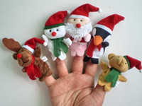Wholesale Christmas gifts baby christ finger puppets five fingers puppet children s toys