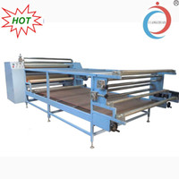 Wholesale Seperation Blanket Type Thermal Sublimation Machine With Oil Warming Printing Transfer Equipment