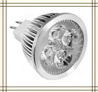 4W 12v mr16 down light - 4 w LED High Power MR16 Spot Light Bulb Spotlight spot lamp Aluminum Ceiling down Light W DC12V